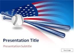 Download Baseball And Baseball Bat Over Usa Flag Background