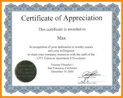 Certificate Of Appreciation Template For Word Impressive Fillable Certificate Of Achievement Fresh Free Certificate
