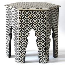 australia blue bone inlay table