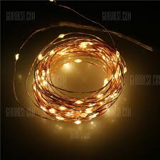 Battery Operated Led Indoor Lights Lampwin Led Starry String Light Copper Wire Lights Decorative Lights 3 Aa Battery Operated Lights Set With Remote Control Dimmer Perfect
