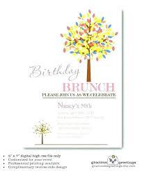 Holiday Brunch Invitation Wording Brunch Invitation Wording Template