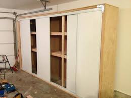 Storage Cabinet Sliding Doors 1000 Ideas About Garage Storage Cabinets On Pinterest Garage With