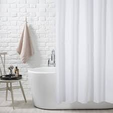 beautiful best white shower curtain contemporary house