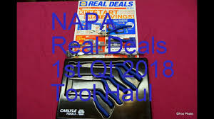 napa real deals 1st qt 2018 tool haul