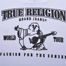 true religion logo. true religion men - logo crew neck t shirt white ui151