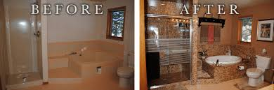 bathroom remodel pictures before and after. Sentrel One Day Bathroom Before After Remodel Pictures And M