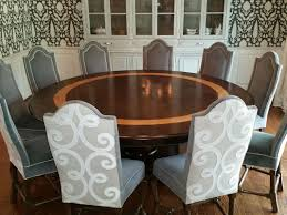80 inch round dining room table designs