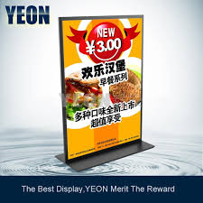 2018 yeon factory metal table poster frame sign display stand rack banner stand bulk order available from fhteresaxu 50 26 dhgate com