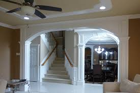Arched Crown Moulding Arches Custom Interior Arches By Crown Molding Nj Llc