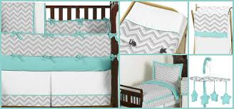 gray and white baby bedding turquoise and gray zig zag crib bedding collection grey and white