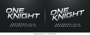 Logo Font Logo Font Speed Stock Vectors Images Vector Art