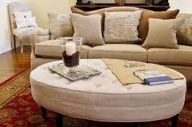 oval leather ottoman. Wonderful Leather Oval Round Ottoman Coffee Table From Good Leather In A