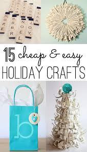 Best 25 Christmas Crafts Ideas On Pinterest  Xmas Crafts Easy Christmas Crafts Cheap
