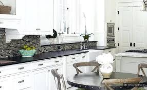 black granite white cabinet glass tile idea backsplash ideas kitchen