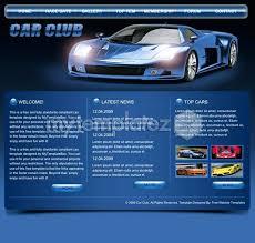 Car Club Responsive Template Wrap Clubs Lupark Co