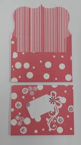 Pink Polka Dot Gift Card Envelope Gos032