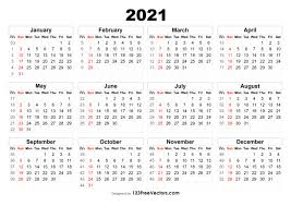 Landscape first day of the week: Free 2021 Calendar With Week Numbers Regarding Monthly Calendar By Week Number 2021 In 2021 Calendar With Week Numbers Print Calendar Calendar Printables
