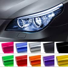 Car Light Film 10 Colors 30cmx1m Auto Car Light Headlight Taillight Tint Vinyl Film Sticker Easy Stick Motorcycle Whole Car Decoration