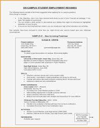 High School Resume Sample Pdf Valid Resume For Recent College