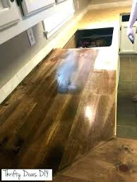 how to make a butcher block countertop homemade build medium size of walnut diy laminate countertops but