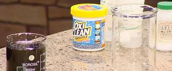 science fair archives the lab science of cleaning products oxyclean