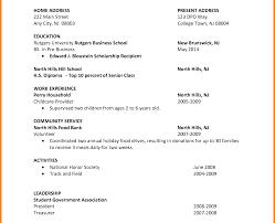 resume college student sample college resume format for impressive templates student pdf sample
