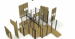 pallet building plans. refugee pallet house photo building plans