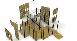 pallet building plans. refugee pallet house photo building plans