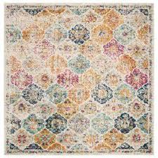madison cream multi 9 ft x 9 ft square area rug