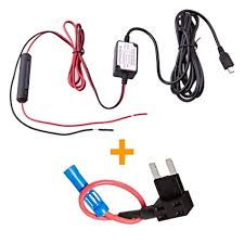 amazon com spy tec dash cam hardwire fuse kit with micro usb direct  at How To Hardwire A Cb Radio To Fuse Box
