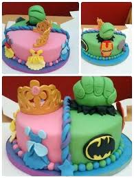 Twins Birthday Cake 1st Ideas Iqtesting