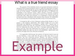 a true friend essay what is a true friend essay homework help