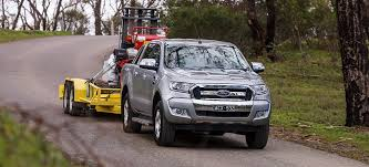 2016 Ford Ranger Review 4x4 Load And Tow Test Comparison