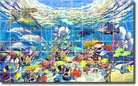 tile mural ceramic mural art tile mural hand painted tile
