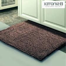 brown heated bath mat mats rugs bathroom mesmerizing inspiring mosaic wood round