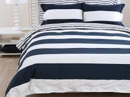 navy and white duvet cover home design ideas