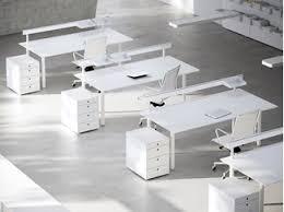 office desk workstation. Lacquered Workstation Desk With Overbridge MÈTA   Office  Office