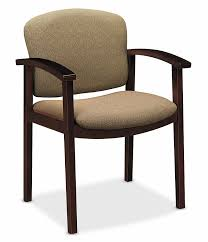hon guest chairs. HON Invitation Guest Chair Tan Mahogany Finish Front Side View H2111.N.BE16 Hon Chairs