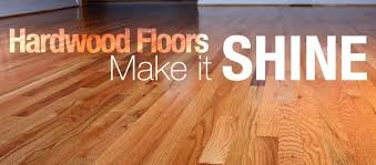 hardwood floors shine