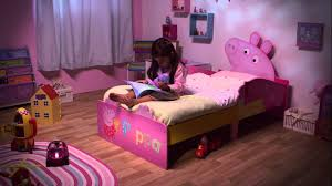 Pig Bedroom Decor Peppa Pig Bed Applied For Pretty Kid Room Designs Home Decor News