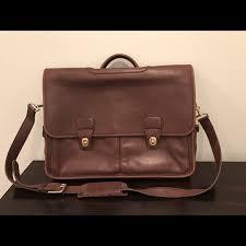coach handbags men s vintage coach leather messenger briefcase