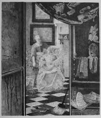 brian fay restored drawing of vermeer the love letter c1667 1670 w=330&h=384