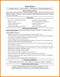 Elegant Medical Billing Resume Cover Letter Dental Office Manager