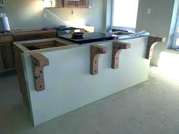 quartz countertop overhang support requirements how to granite popular counter inspire for overhangs pertaining