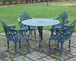 Innovation Antique Iron Patio Furniture Wrought Beautiful Cheap On Stamped Models Design