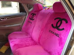 whole high quality chanel universal auto car seat cover sets cotton velvet 10pcs brown from chinese wholer hi bay cn