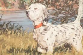 "Sold Price: Peggy Watkins ""Birddog"" Oil on Canvas - January 6, 0118 10:00  AM EST"