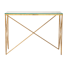 gold console table. Gold Console Table A
