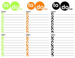 Printable List Template To Do Template Ninjaturtletechrepairsco 6