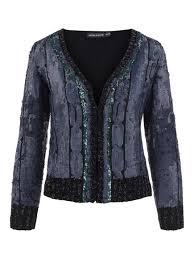 Antik Batik Sequined Crop Jacket